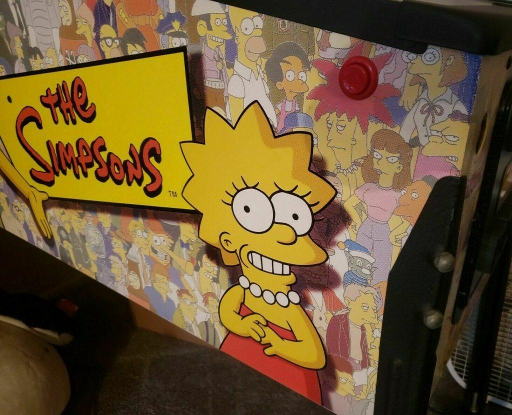 The Simpsons pinball machines