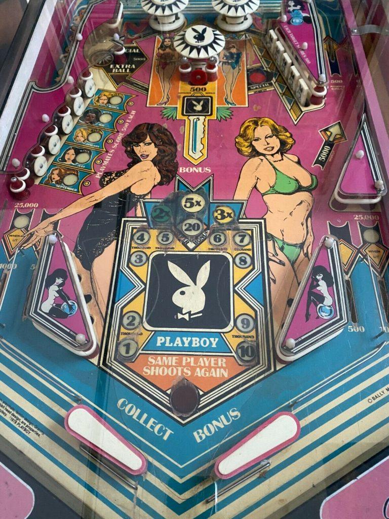 buy used Playboy pinball machine